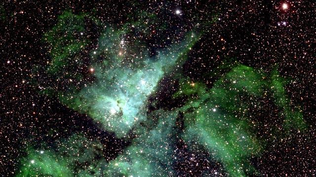 Eta Carinae - ein kleiner Ausschnitt des allumfassenden Bilds