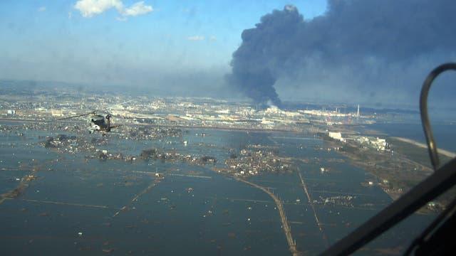 Sendai nach dem Tsunami