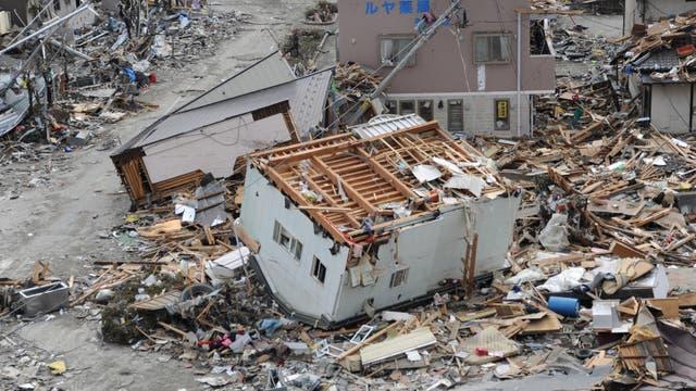 Zerstörungen in Ofunato