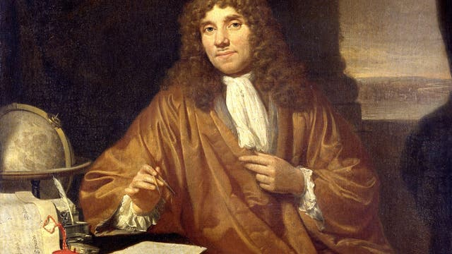 Antoni van Leeuwenhoek, Gemälde von Jan Verkolje (1650-1693)