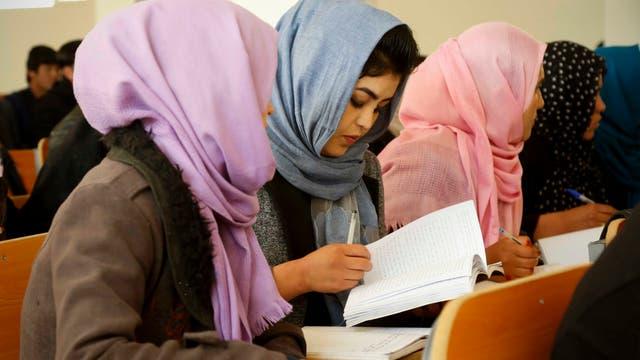 Vor rund zwei Jahrzehnten wurde die Universität Bamiyan gegründet, aber 1997 von den Taliban geschlossen. 2003 wurde die Hochschule wiedereröffnet und diente seitdem als wichtigstes Hochschulzentrum in der Hochlandregion Afghanistans (Archivbild von 2018)