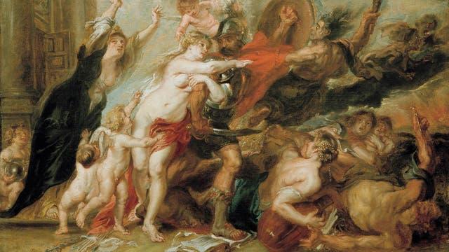 »Die Folgen des Kriegs«, Kopie eines um 1638 entstandenen Gemäldes von Peter Paul Rubens