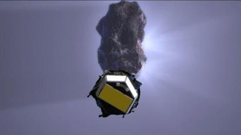 Im Visier: Deep Impact im Anflug auf Tempel 1