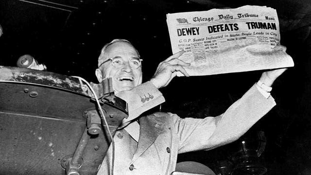 »Dewey defeats Truman«