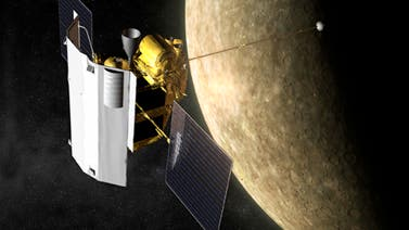 Die Merkursonde Messenger am Ziel