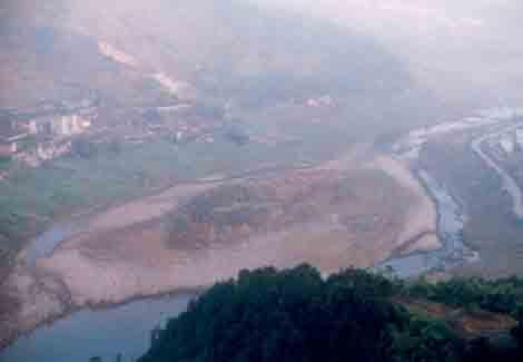 Fundort bei Zhongba