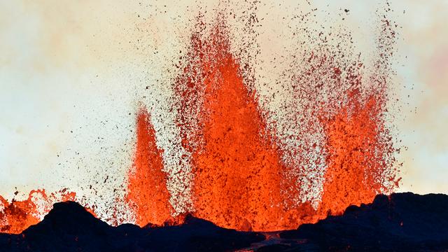 Ausbruch des Bardarbunga auf Island