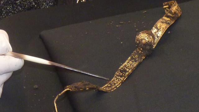 Frühkeltisches Fürstinnengrab gibt einzigartigen Schmuckfund preis