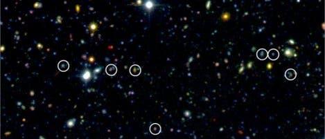 Galaxien im frühen Universum
