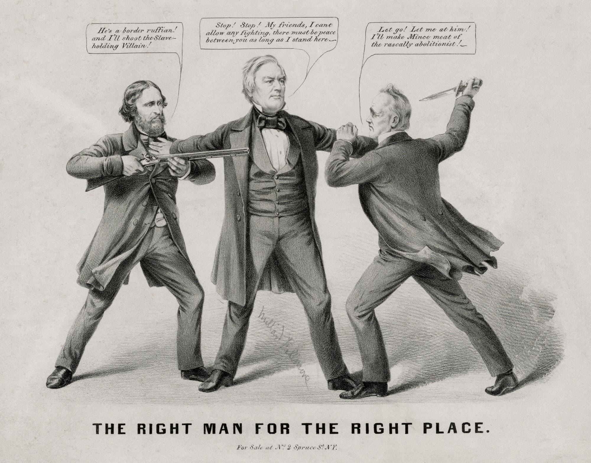 Als US-Politik noch ein Dreikampf war