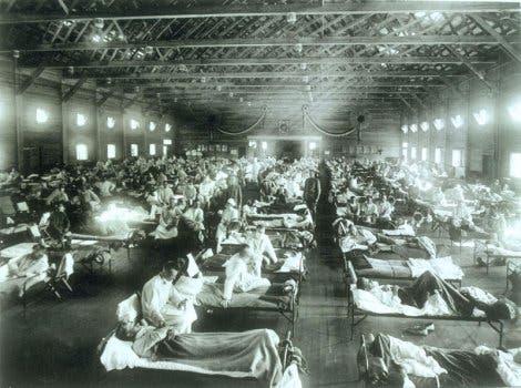 Grippe-Pandemie 1918