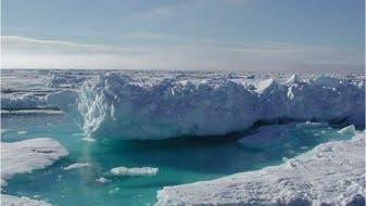 Eislandschaft vor Grönland