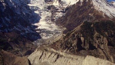 Der Khumbu-Gletscher im Himalaya
