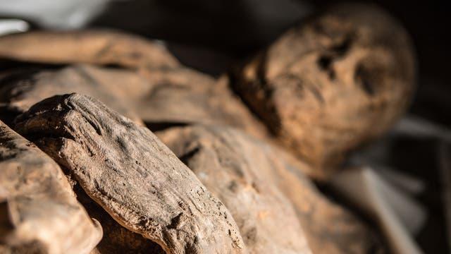 Litauische Pocken-Mumie