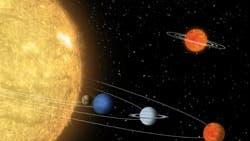 Sonnensystem im Miniformat