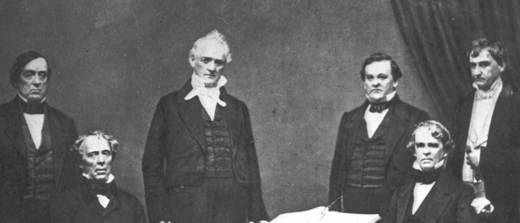 Das Kabinett von James Buchanan
