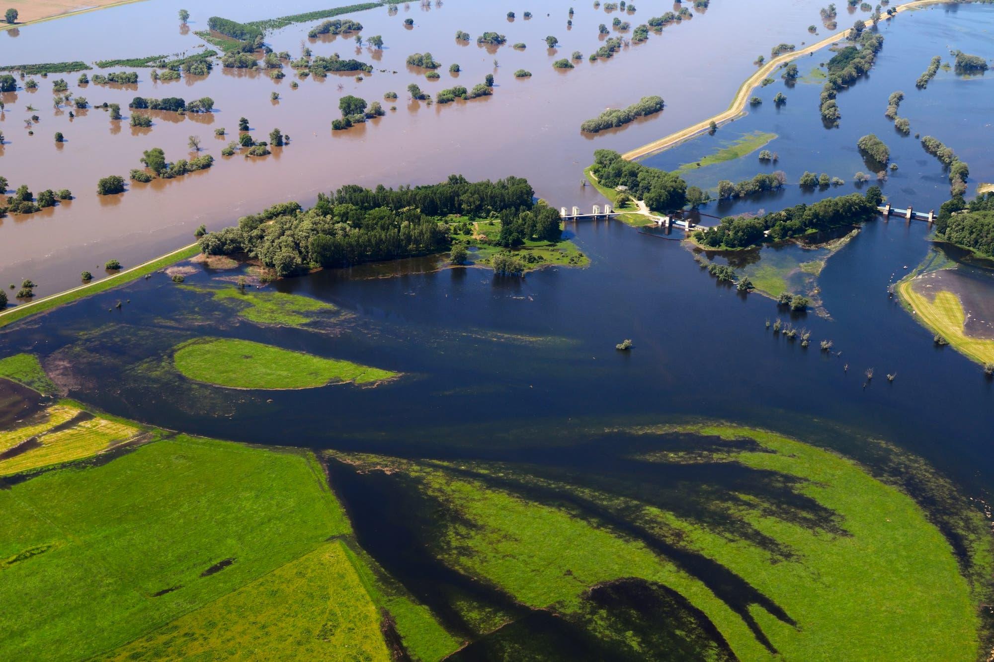 Hochwasserschutz durch die Havel