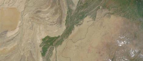 Der Indus aus dem All