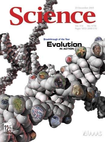 Science-Titelblatt