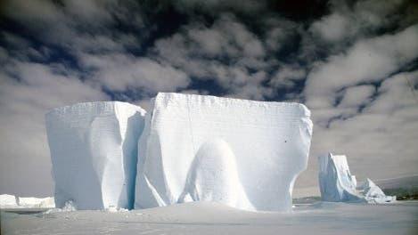 Antarktische Eisformation