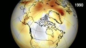 Ozonbedingte Aufheizung der Arktis