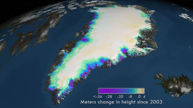 Wo Grönland taut