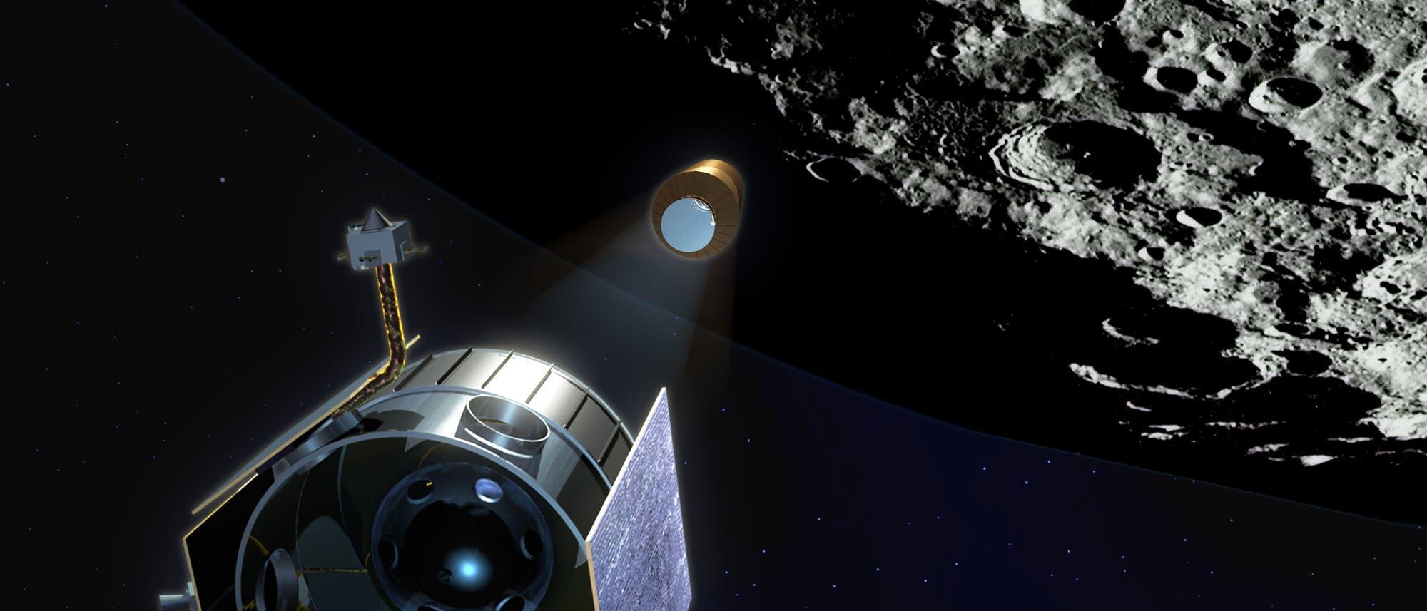 Die LCROSS-Sonde