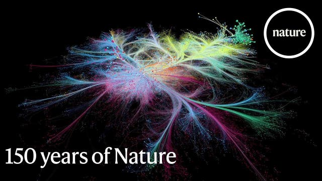 Seit 150 Jahren vernetzt »Nature« Fachartikel