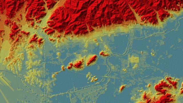 Archäologische Spuren der Liangzhu und ihres Bewässerungssystems