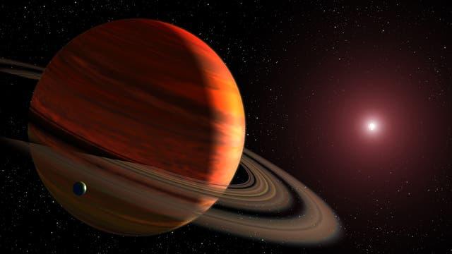 Ein Superjupiter umkreist einen fernen Stern