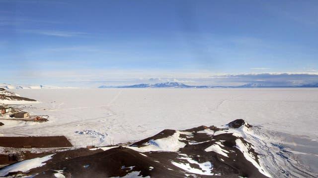 ANITA (Antarctic Impulsive Transient Antenna) am Ross-Schelfeis