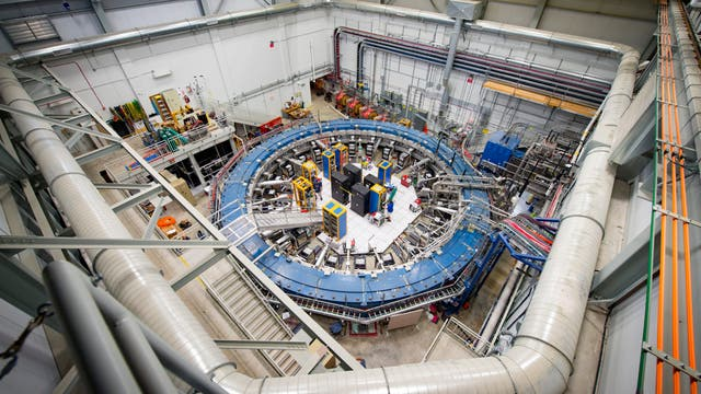 Speicherring des Muon g-2 Experiments am Fermilab