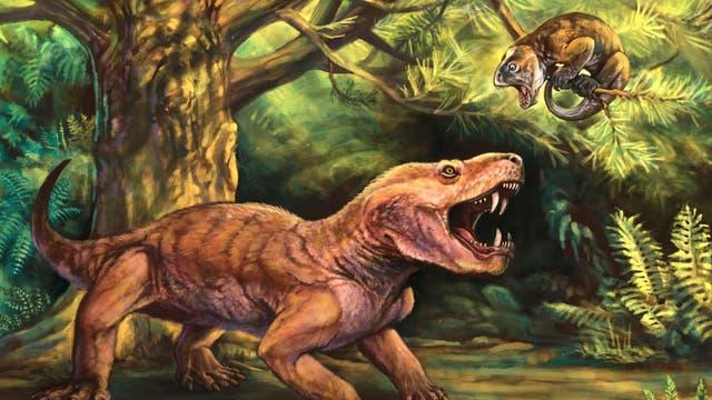 Gorynychus masyutinae aus dem Perm