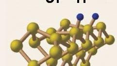 Siliziumoberfläche mit Wasserstoff