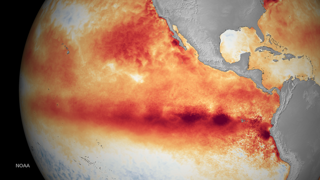 El Niño im Ostpazifik