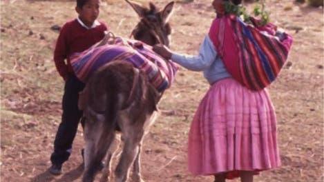 Indios in Bolivien