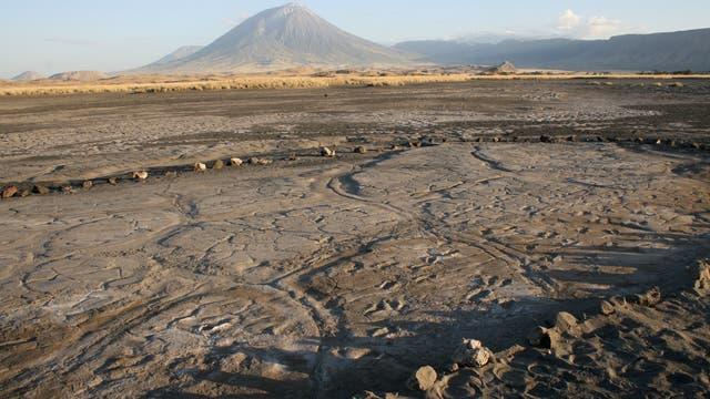 Fußspur-Fundplatz Engare Sero in Tansania