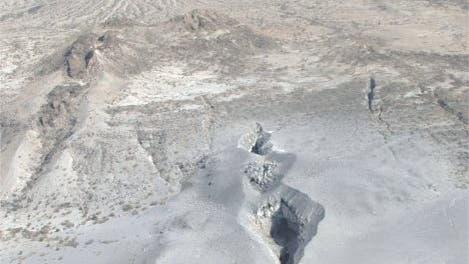 Eruptionsspalte
