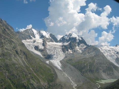 Tschiervagletscher im Oberengadin