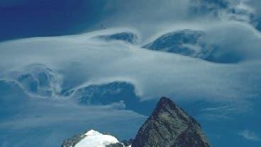Föhnwolken über dem Jungfraugebiet