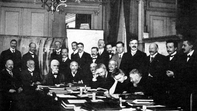 Solvay-Konferenz 1911