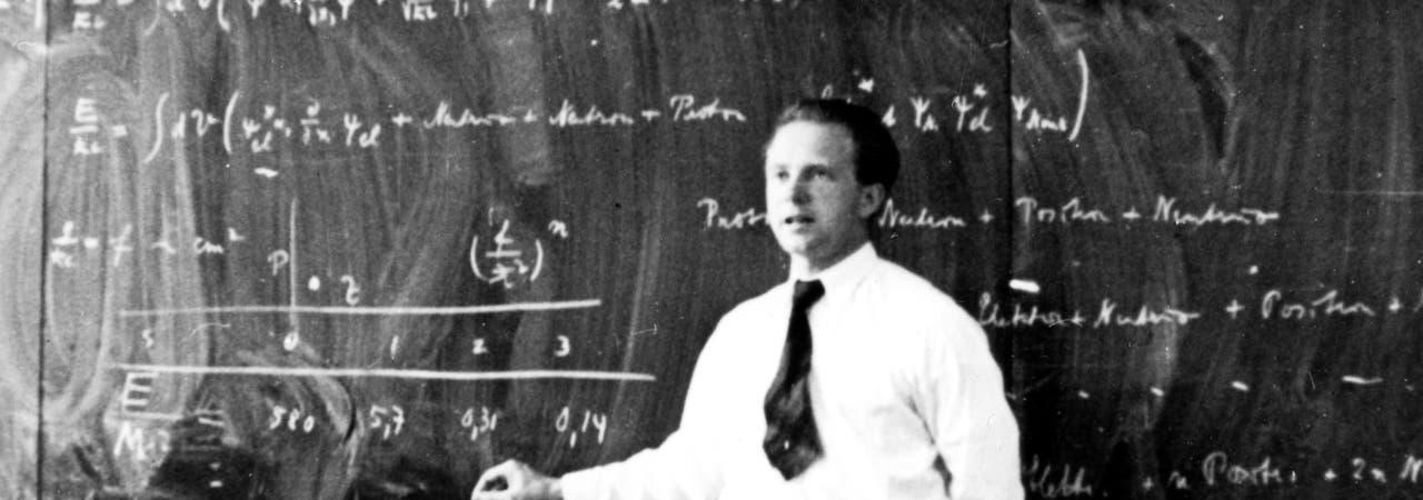 Der Physiker Werner Heisenberg (hier auf einem Bild aus dem Jahr 1936) war einer der wichtigsten Denker des deutschen Uranvereins.