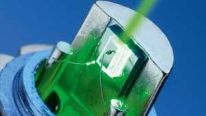 Grüne Welle für den Laser