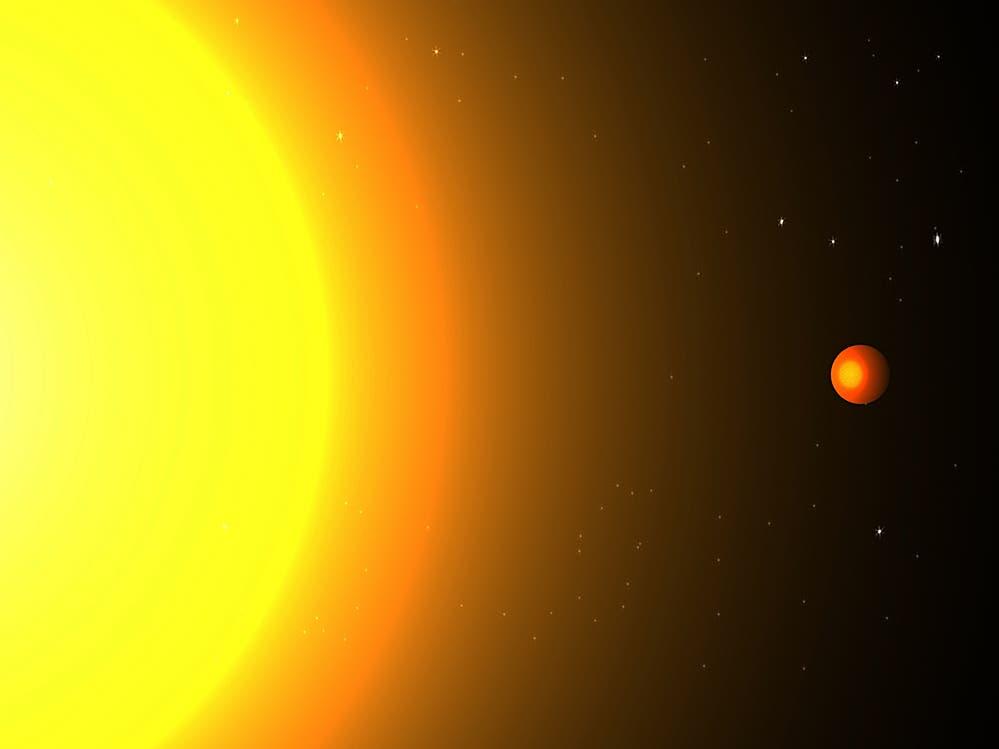 Der Exoplanet Kepler 78b (künstlerische Darstellung)