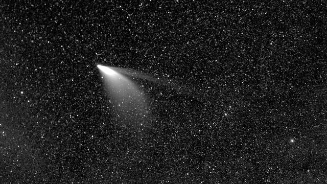 Komet Neowise mit NASA-Sonnensonde Parker abgelichtet