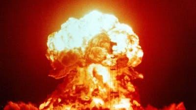 Oberirdischer Atomtest in Nevada 1953