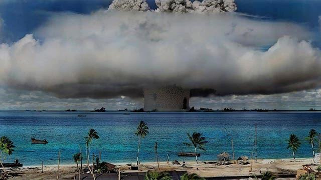 Kernwaffentest auf den Marshallinseln