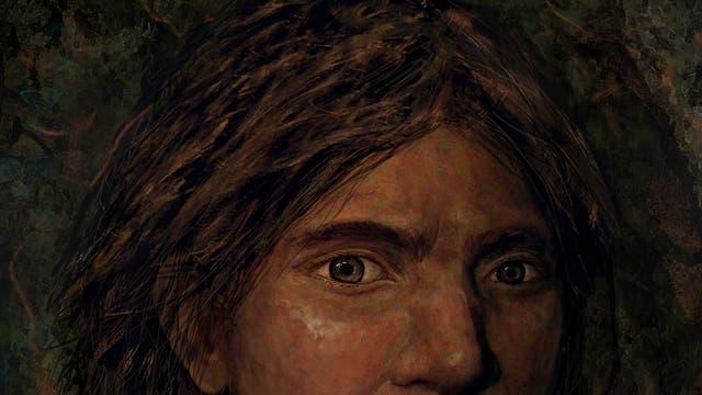 Porträt einer jungen Denisovanerin