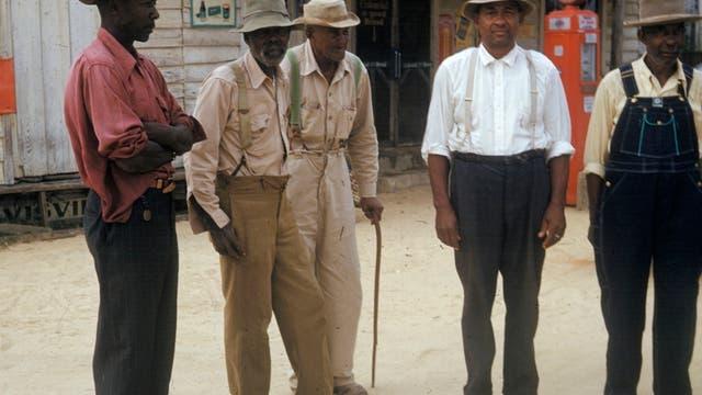 Probanden der Tuskegee-Syphilis-Studie