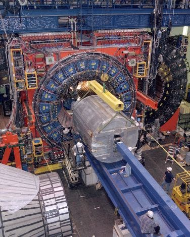 Partikel-Detektor im Tevatron-Beschleuniger